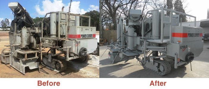Pre Owned Power Curber Curb Machines For Sale