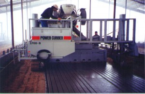 Power Curber Machine in Action