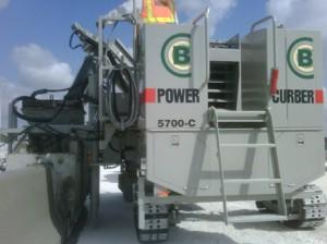 Power Curber Barrier
