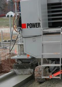 Power Curber Machine