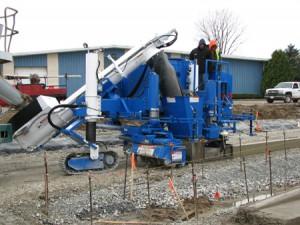 Blue Power Curber Machine