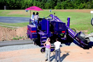 Purple Power Curber Machine