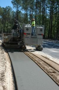 Sidewalk Pouring