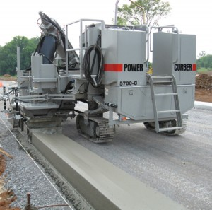 Power Curber Machine