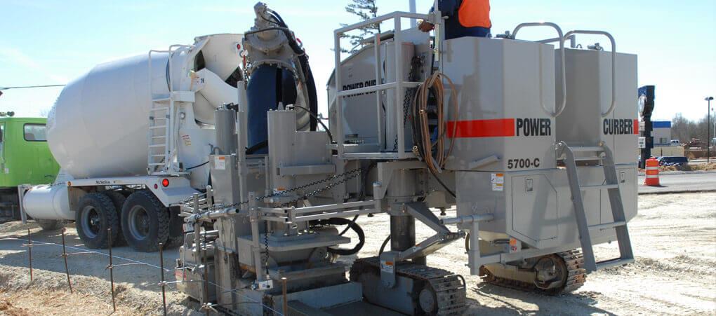 5700-C Curb & Gutter Machine