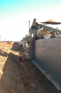 Canal Project Tall Walls