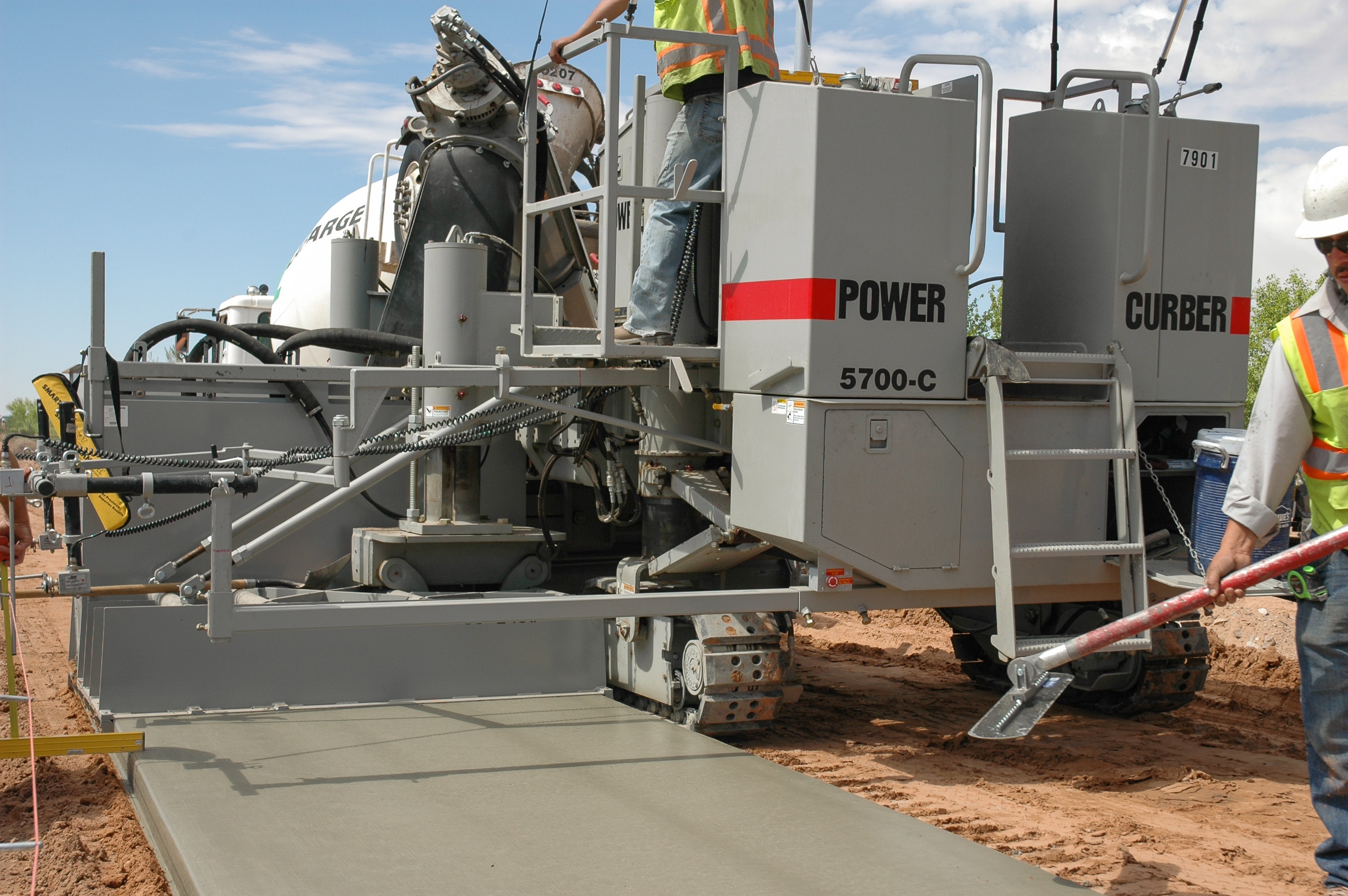 Asphalt contractor takes on concrete work - Power Curbers