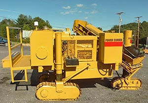 Power Curbers original 5700 curb and gutter machine