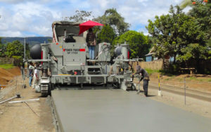 power paver sf 1700 paving road
