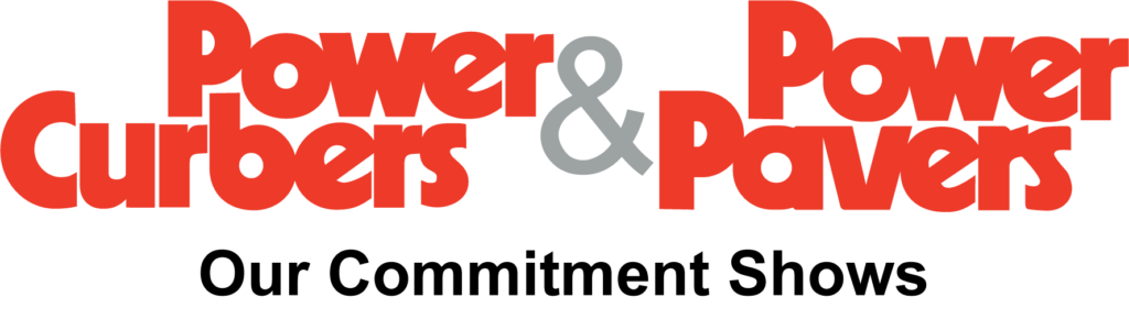 power curbers and power pavers logo